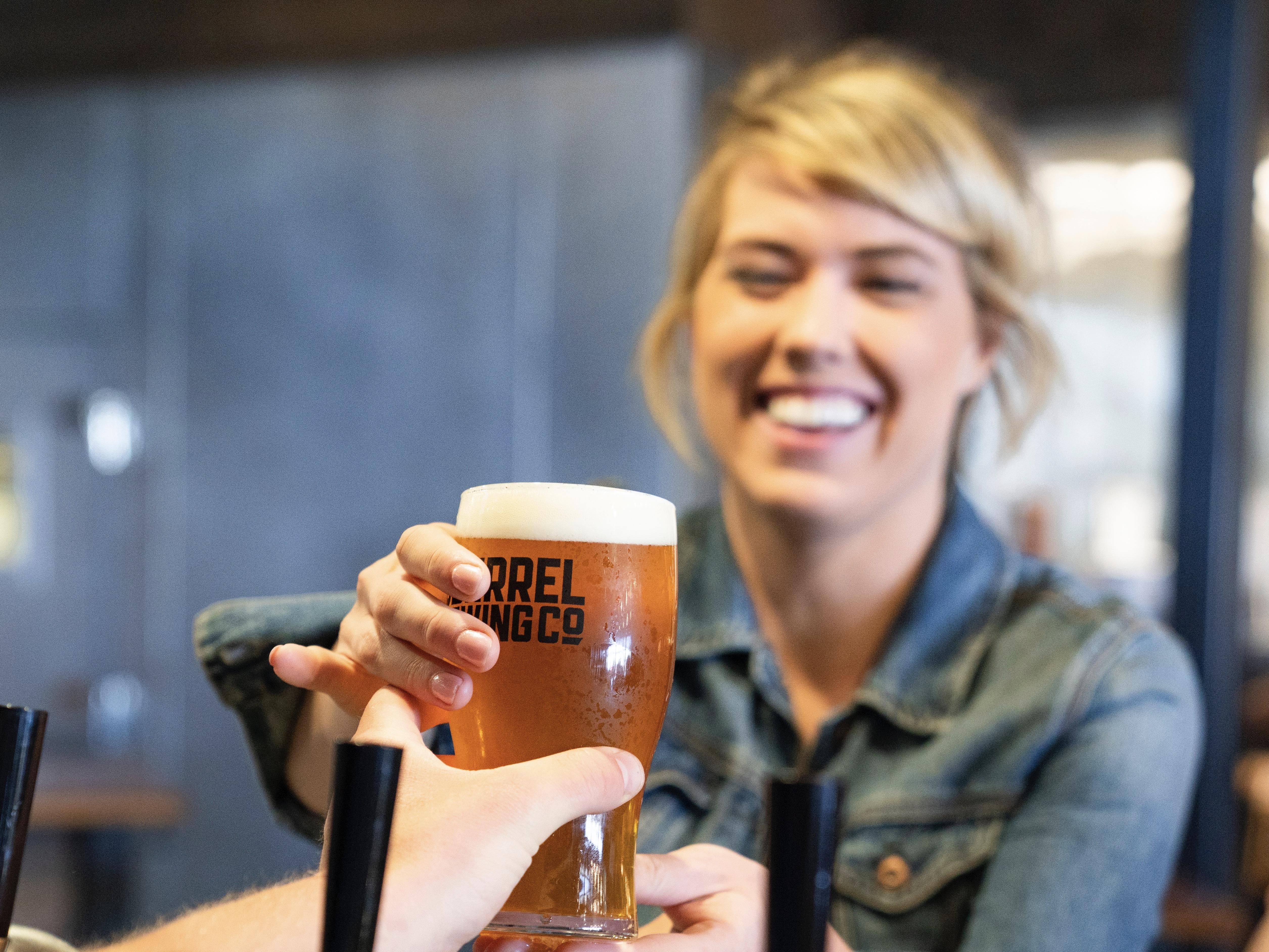 ビール1杯=1時間ウォーキング!?