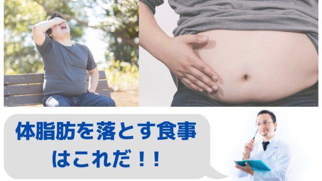 体脂肪を落とす食事はこれだ!内臓脂肪・皮下脂肪それぞれを落とす食材や家で簡単にできる運動とは【パーソナルトレーナー監修まとめ記事】