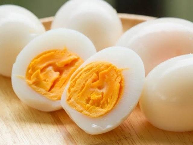 ゆで卵 間食